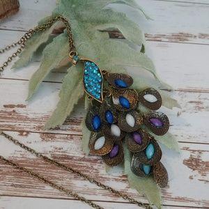 Jewelry - Exotic Peacock Pendent
